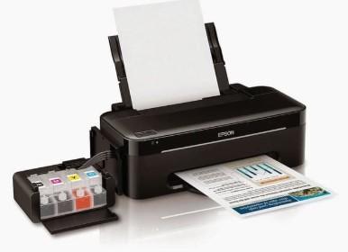 cara mengatasi print yang bergaris dengan mudah