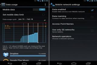 cara menghemat data kuota internet android