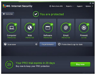 cara mematikan antivirus avg windows 7
