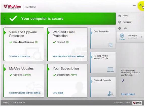 Cara Menonaktifkan Antivirus McAfee di Windows