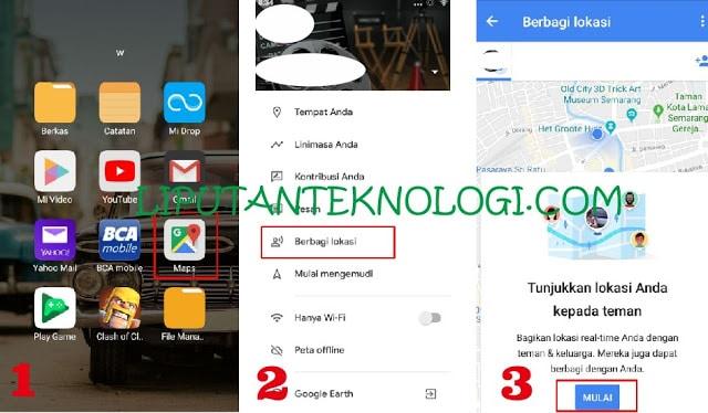 Cara Melacak Lokasi NO HP menggunakan Google Maps
