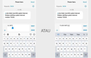 Cek Kuota Telkomsel Via SMS
