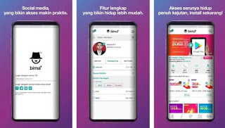 Cek Sisa Kuota 3 via Aplikasi Bima Tri