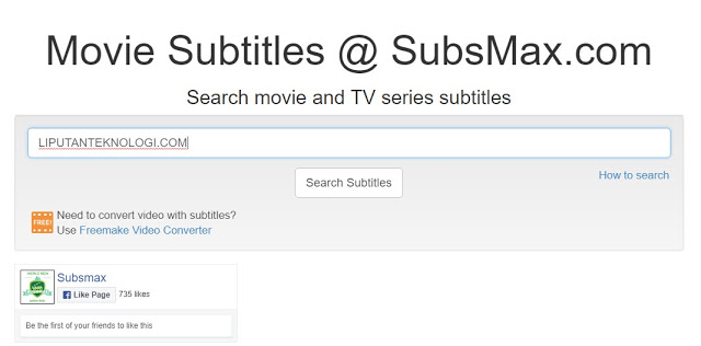 Download Subtitles Indonesia Film Dengan Situs Subsmax