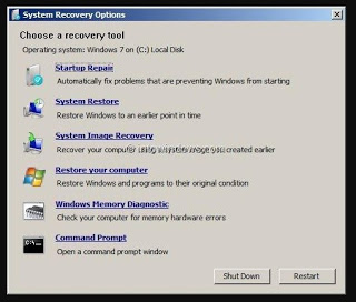 cara mengatasi windows error recovery pada windows 7 ultimate