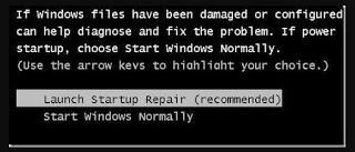 cara memperbaiki windows 7 tanpa cd