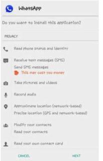 tema whatsapp android yang unik