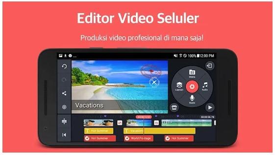 Aplikasi Editor Video Terbaik KineMaster