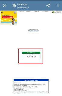 Cek IP Address di Smartphone Melalui Website
