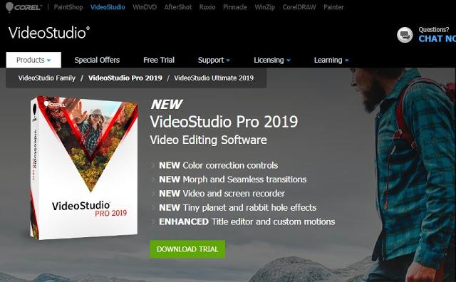 Corel Video Studio Aplikasi Pengedit Video Terbaik