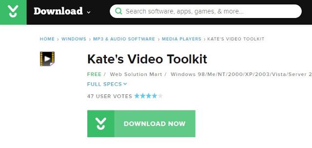 Edit Video Dengan Kate`s Video Toolkit
