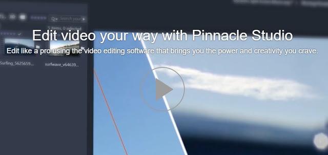 Free Download Video Editor For PC Full Version - Pinnacle Studio