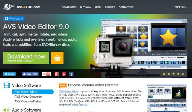 Mengedit Video Menggunakan AVS Video Editor