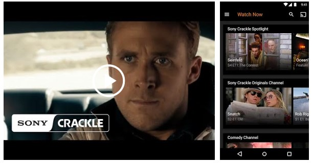 STREAMING FILM MENGGUNAKAN APLIKASI CRACKLE