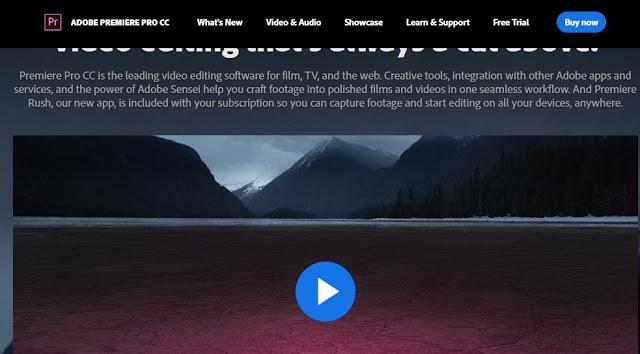 Sofware Editor Video Adobe Premiere Pro