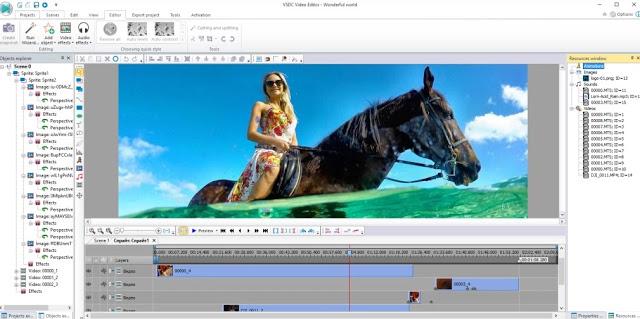 VSDC - Aplikasi Edit Video PC Tanpa Watermark