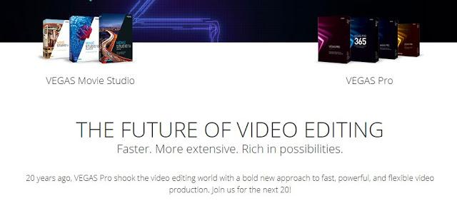 Video Editor PC Sony Vegas Pro 13