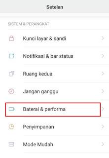 baterai xiaomi redmi note cepat habis