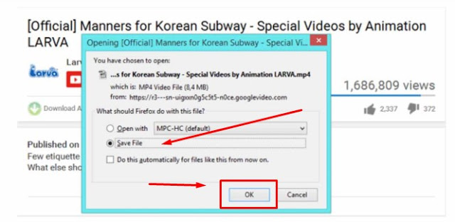 cara download video youtube mp4