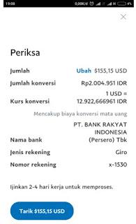 contoh bukti pembayaran dari aplikasi penghasil uang