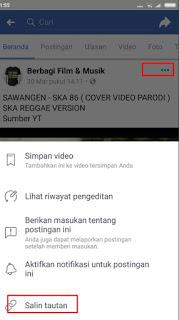 Cara Download Video Di Facebook Tanpa Apikasi lewat HP Smartphone Android