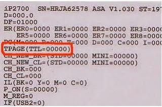Cara reset printer canon ip2770 dengan software resetter