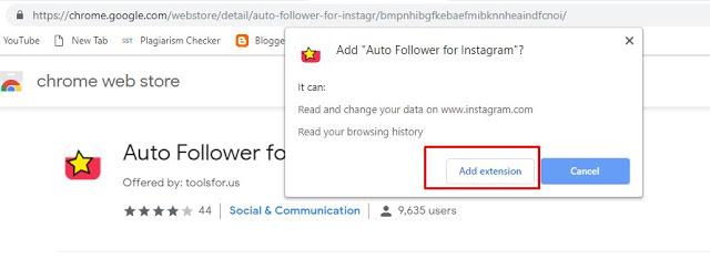 Cara Follow Massal Akun Instagram secara Otomatis