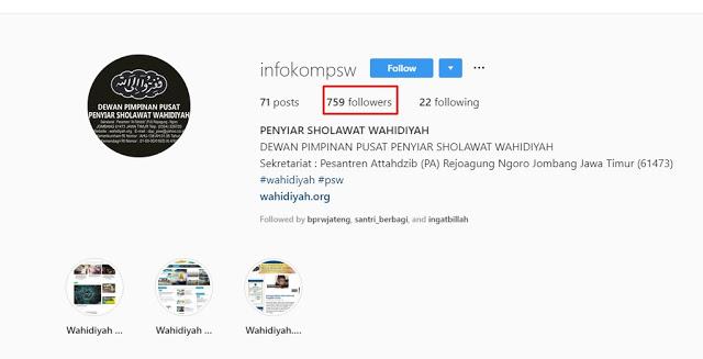 Cara Follow Massal Akun Instagram Otomatis