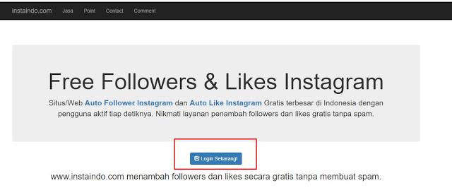 Cara Memperbanyak Followers Instagram Menggunakan Aplikasi
