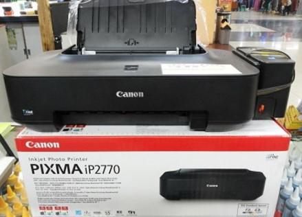 Cara Reset Printer Canon iP 2770 [MUDAH,CEPAT]