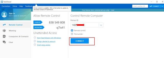 Cara Menggunakan TeamViewer Untuk Meremote HP Android