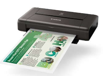 Printer Bluetooth Terbaik Merk Canon Pixma Mobile iP110