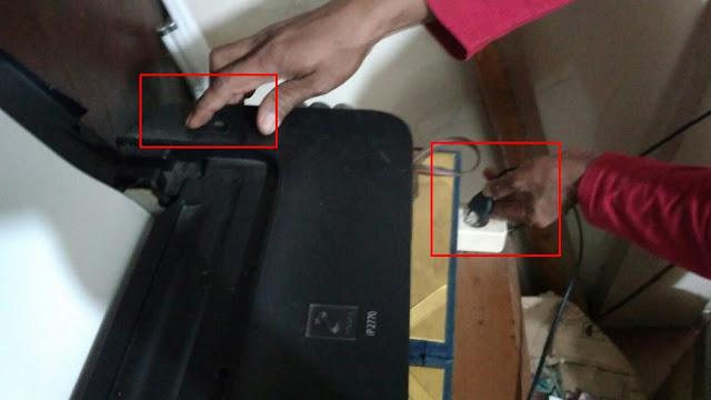 cara memperbaiki indikator printer berkedip saat dinyalakan
