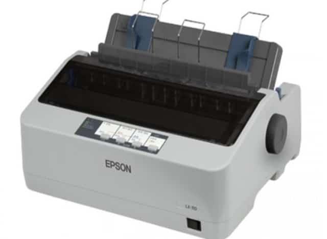 cara setting printer EPSON LX300, LX-310