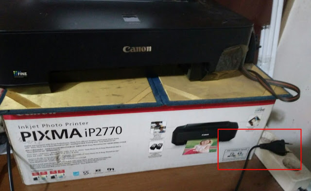 langkah-langkah memperbaiki indikator printer berkedip saat dinyalakan